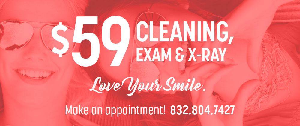 lovett dental exam and x-ray special offers